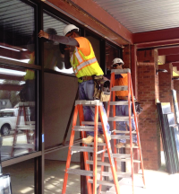 Glass Install
